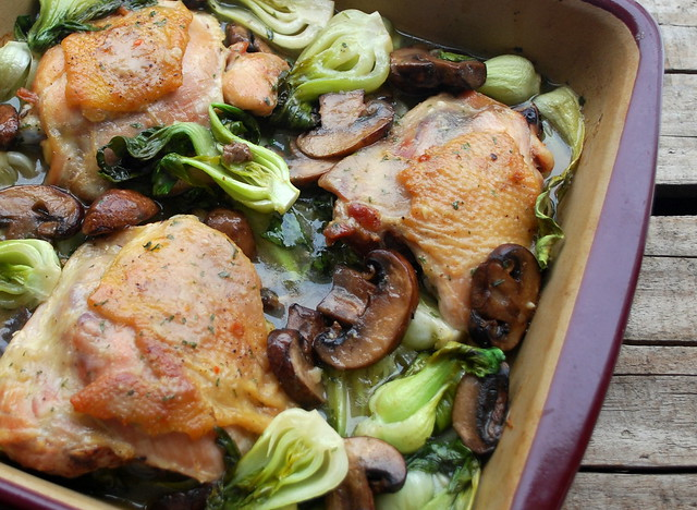 Chicken and Bok Choy Blog 1