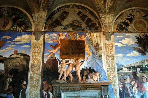 Mantua palazzo ducale camera degli sposi regione for Camera degli sposi palazzo ducale