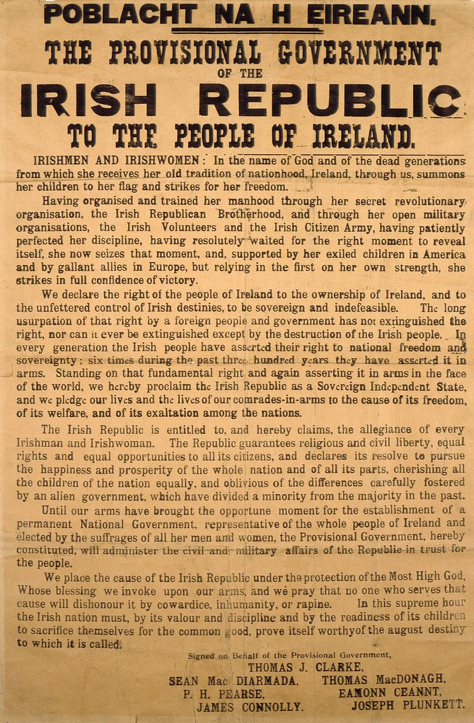 independence declaration of ireland