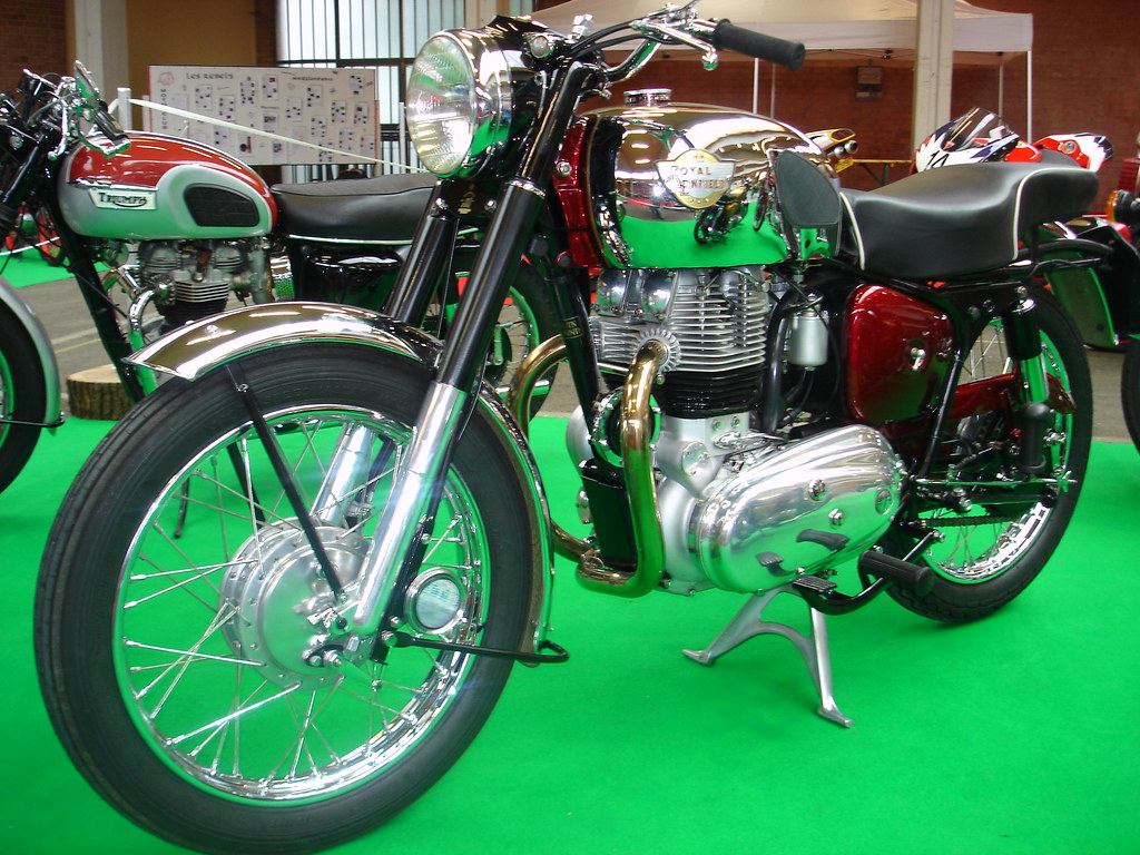royal enfield constellation 1958 700cc ohv bicylindre 4 te flickr. Black Bedroom Furniture Sets. Home Design Ideas