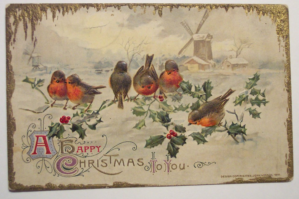 Image result for vintage christmas postcards