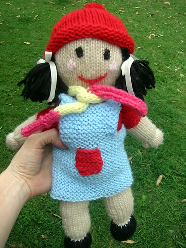 Jemima (from Playschool) Jemima (the doll) knitted by my m? Flickr