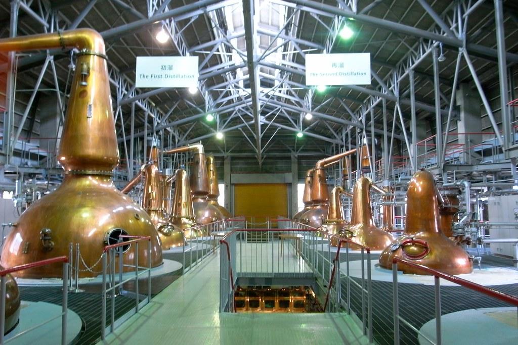 Resultado de imagem para Suntory Hakushu Distillery