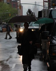 Mystery Umbrella Man