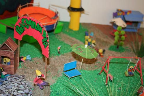 Maquetas 8 b sico parque de diversiones pokemon artes for Para desarrollar un parque ajardinado