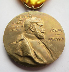 1897 Wilhelm I Centenary Medal obverse