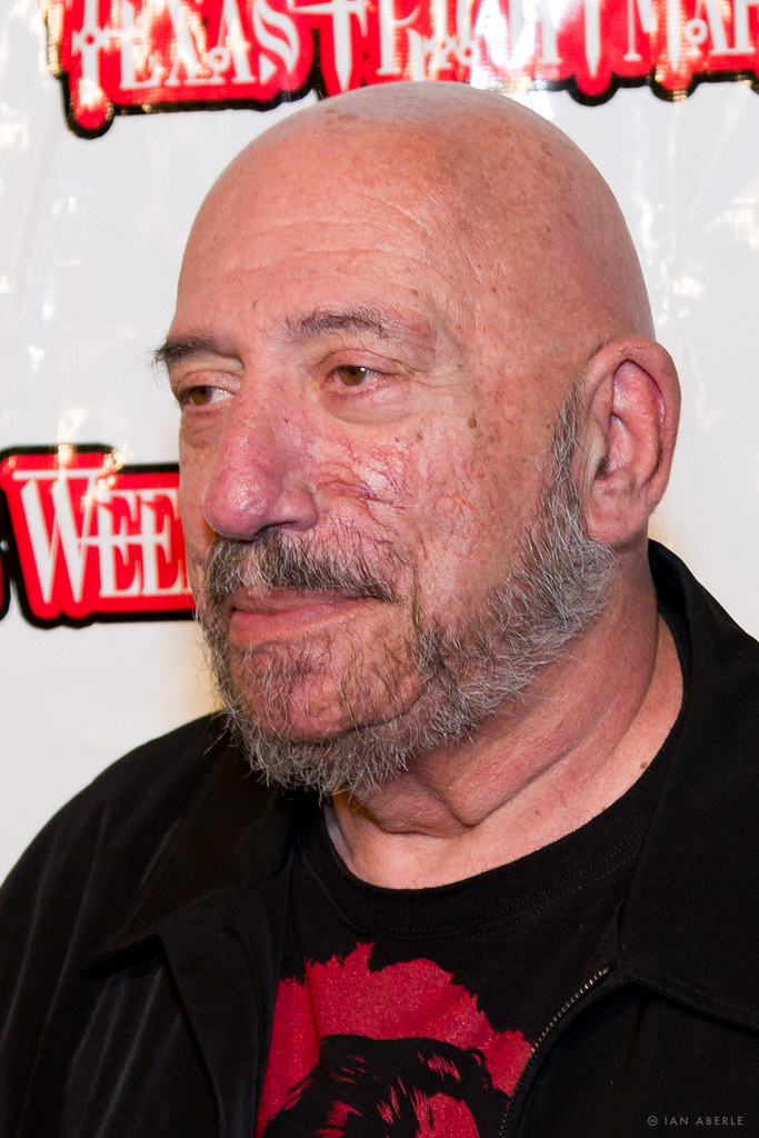 Sid haig on the red carpet at texas frightmare weekend