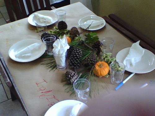 thanksgiving kids table | by eren {sea+prairie}