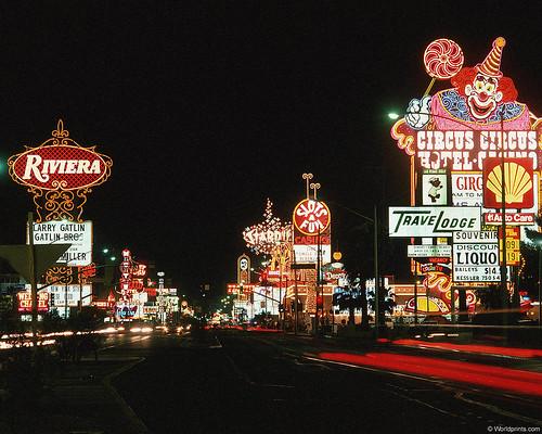 Mid 1980 S Lvb Las Vegas Nv Nice Shot Of The North End