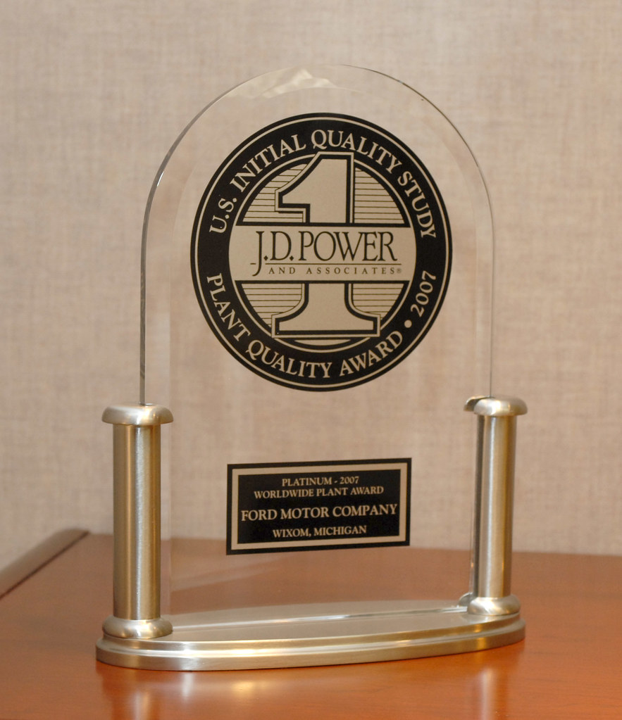J d power award for ford motor company 39 s wixom assembly p for Ford motor company awards