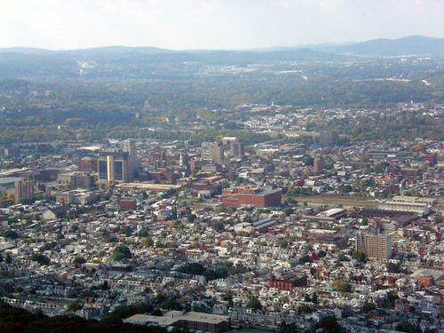 Downtown Reading Pa 10 20 07 As Viewed From The Mount