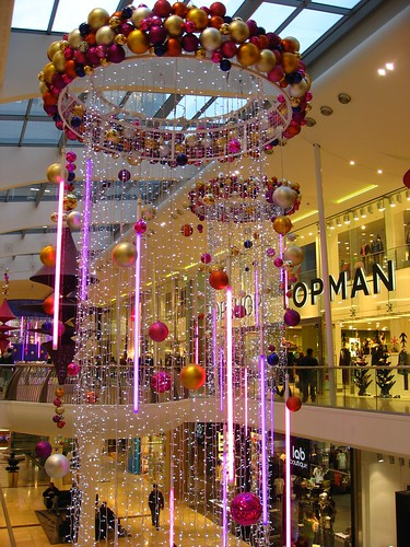 Christmas decorations westfield shopping centre derby for Christmas decorations online shopping