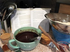 Making Suzanne Goin's 70's Chocolate Bundt Cake | by alice q. foodie