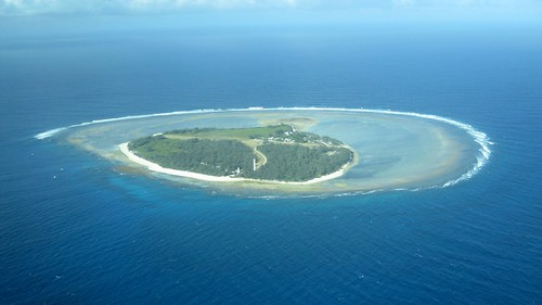 lady elliot island viewed from the west