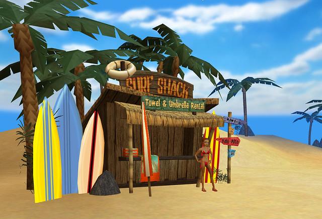 Spring Break Beach - Surf Shack | Don Carson | Flickr