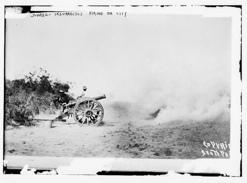 Juarez - Insurectos firing on city  (LOC) | by The Library of Congress