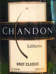 Domaine Chandon NV (front) | by 2 Guys Uncorked