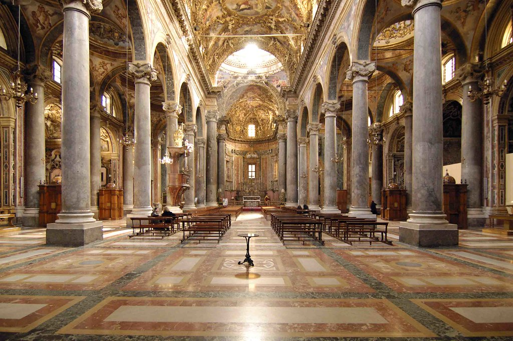 Chiesa dei teatini interno palermo teatini 39 s church in p for Interno 5 b b roma