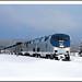 Winter Ride - California Zephyr in Fraser, Colorado