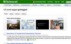 Geotagged Posts on Technorati | by premasagar