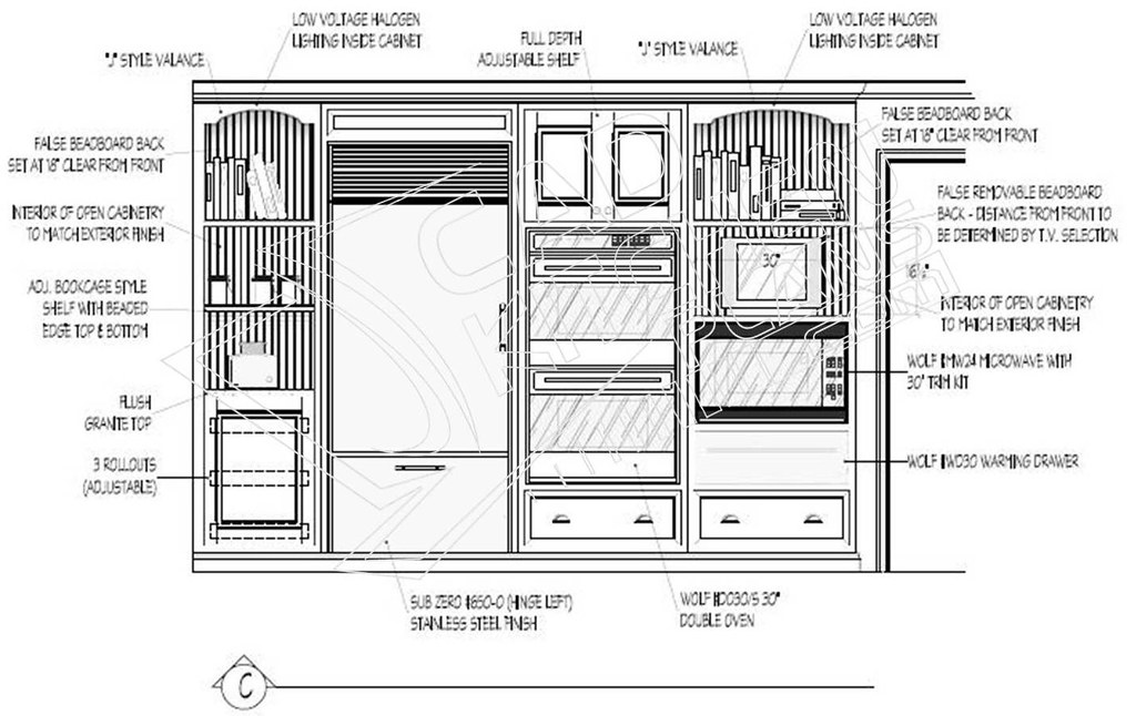 2d Autocad Kitchen Elevation As You Can See At Cadkitchenp Flickr