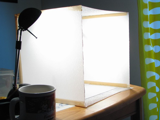 ... Homemade Lightbox/light Tent   Sideview | By Quinntillion