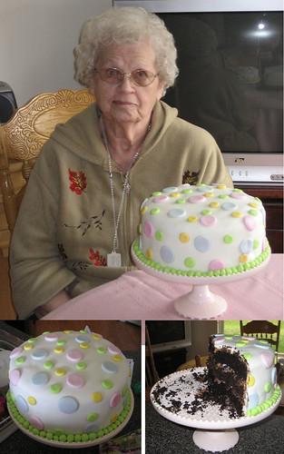 Birthday Cake New Gramma