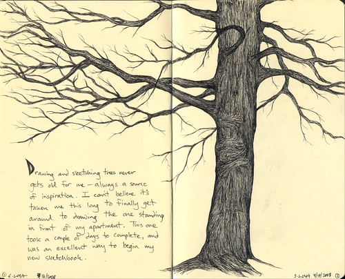 Moleskine book 5, page 1 and 2 | by steve loya