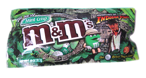 Indiana Jones Mint Crisp M&Ms Package | by princess_of_llyr
