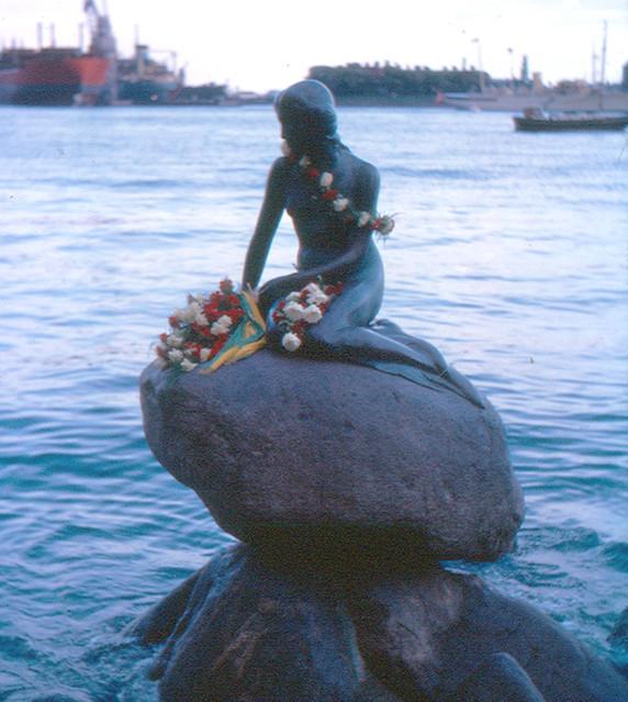 Little Mermaid Copenhagen Vandalism
