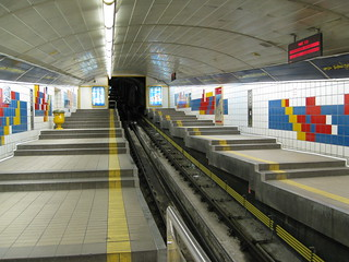Carmelit Subway | by ChrisYunker