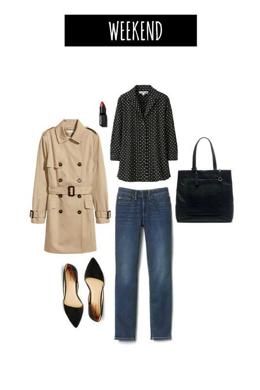 3 ways weekend polka dot blouse | Style On Target