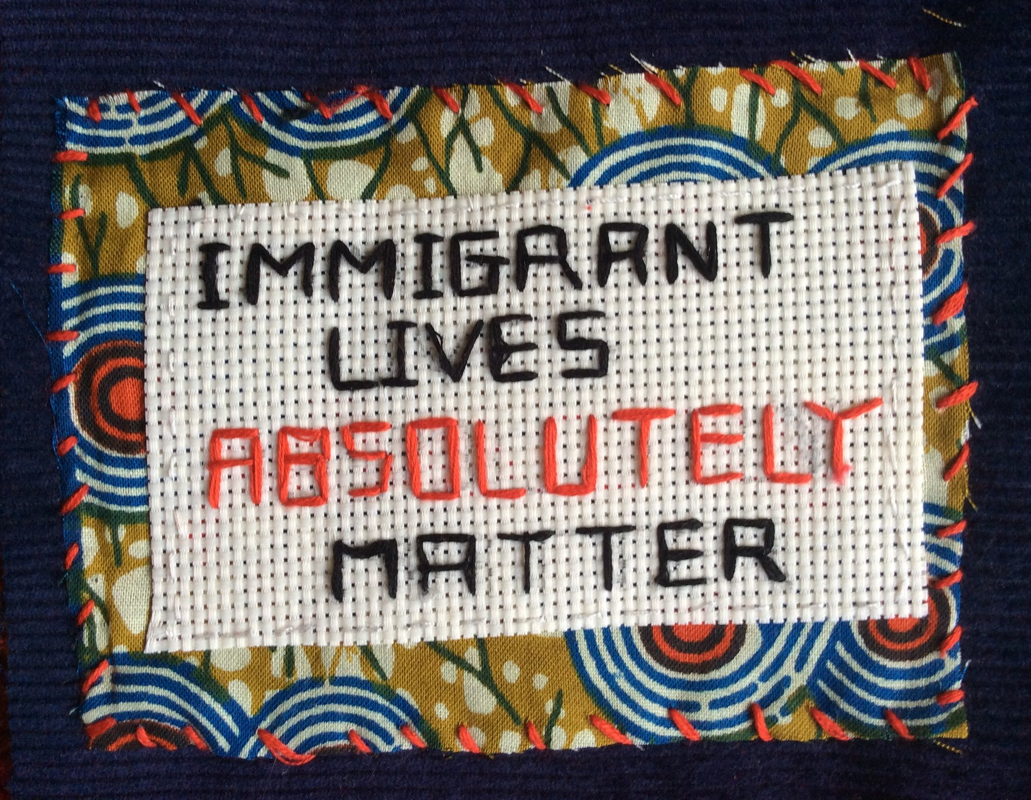 Immigrant Lives Matter © Alinah Azadeh