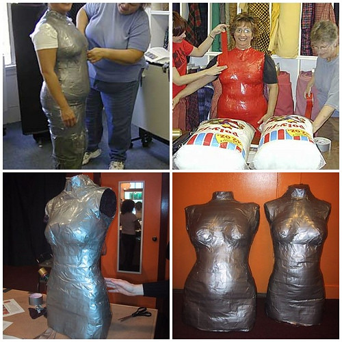 Duct Tape Dress Form Class