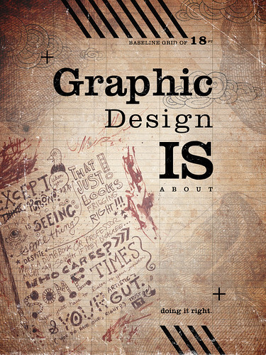 What is Graphic Design? Poster | by Two Fish 77