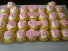 It's A Girl Cupcakes | by Oh, Sugar! (Destini Hinkle)