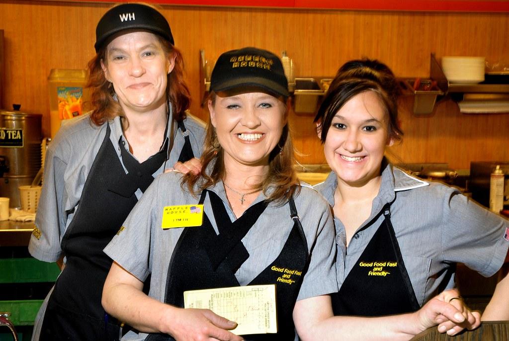 Waffle House Waitresses Mercurialn Flickr