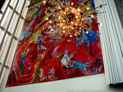 Marc Chagall Masterpiece Quot The Triumph Of Music Quot Nyc Lincol