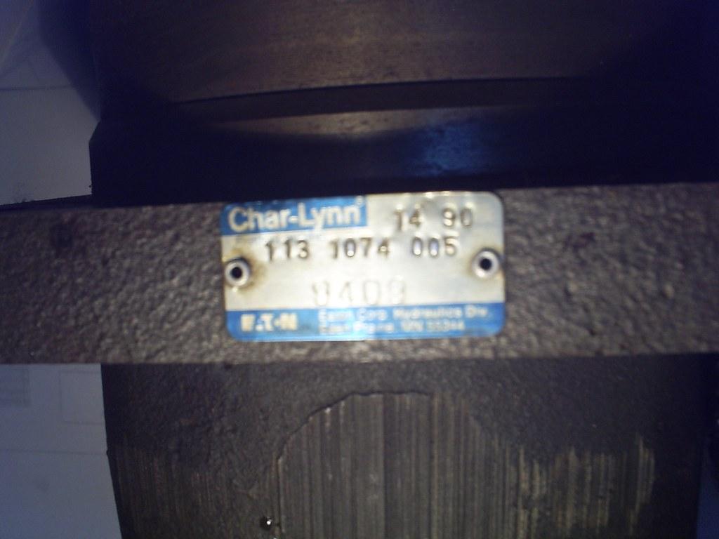 Motor hidraulico char lynn 6000 4 luis alberto fuentes for Char lynn motor distributors