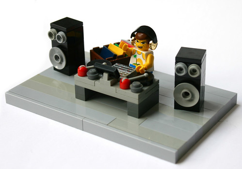Dj Well My Lego Brain Came Up With This Idea To Build