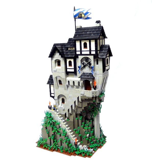 Kingdoms And Castles Buildings Are Blocks