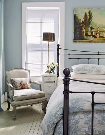 Ordinaire ... Light Blue Country Bedroom | By Decorology