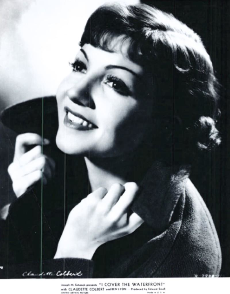 Claudette Colbert 1933 I Cover The Waterfront Flickr