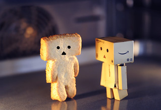 Danbo Biscuit: Close Encounters of the Third Kind in the Oven | by Iaia***