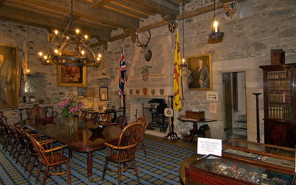 Banquet Hall Eilean Donan Castle Bruce Macrae Flickr