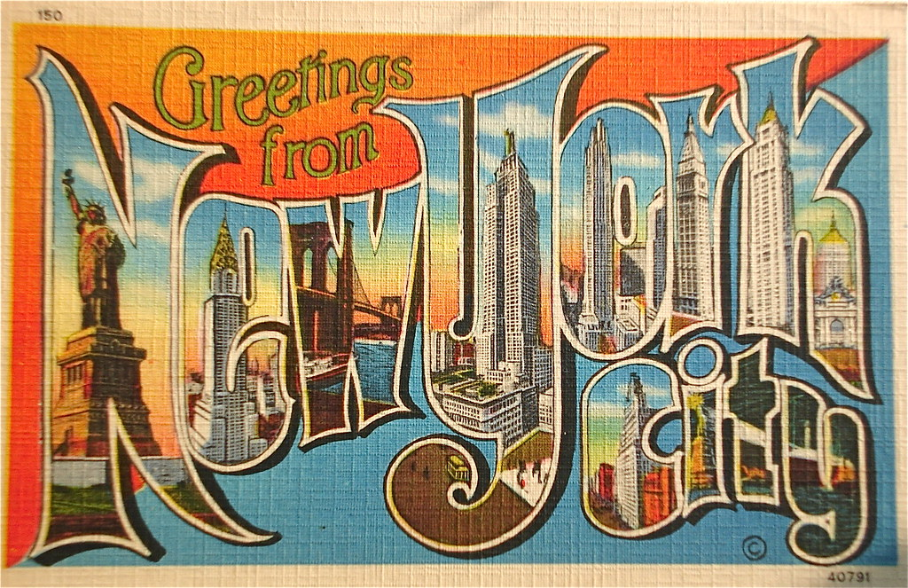 Greetings from new york city postcard smaddy flickr greetings from new york city postcard by smaddy m4hsunfo