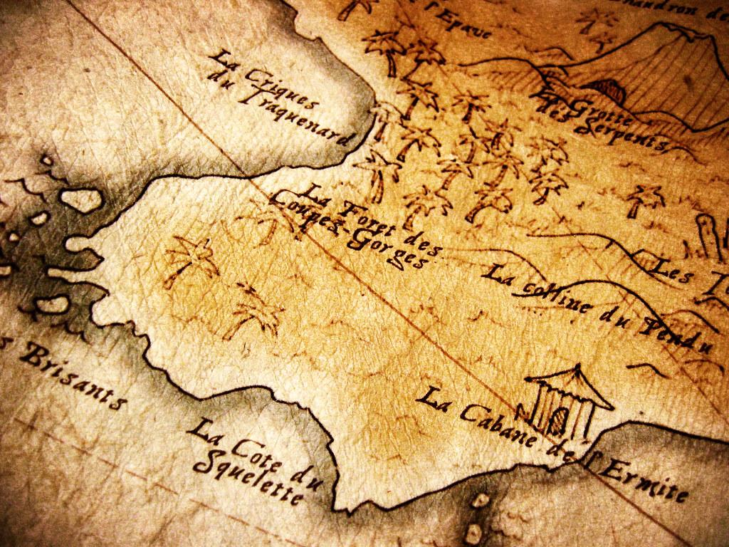 Bien-aimée Carte au Trésor | Création graphique d'une Carte au Trésor f… | Flickr &CR_96