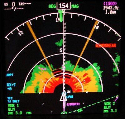 Weather Radar >> Navigation Display y WX Radar | Boeing 737-800 ND y WX ...