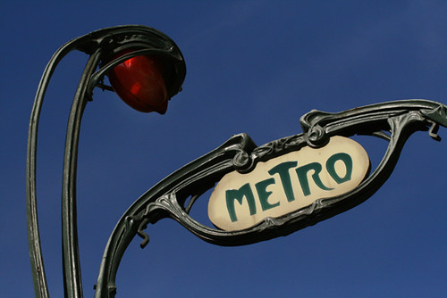 Metro Art Nouveau in Paris | Bertrand Linet | Flickr