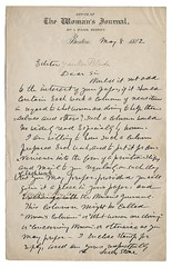 Lucy Stone letter | by i.minerva luvs Jackson Library